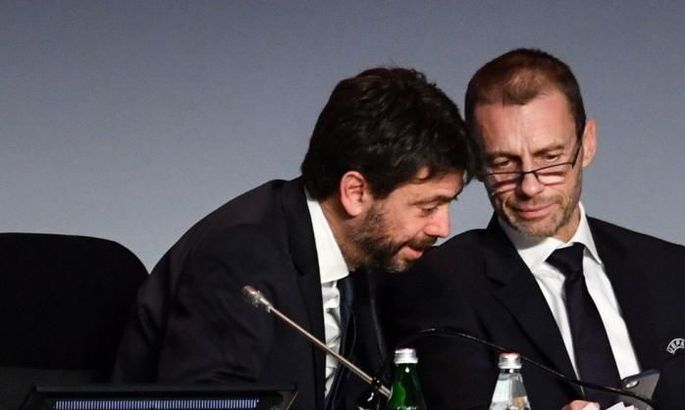 Президент УЄФА вважає, що власник Ювентуса його зрадив