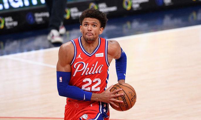 Шикарний данк форварда Філадельфії – момент дня в НБА. ВІДЕО