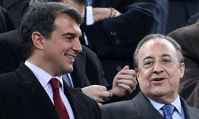 """""""Это ради будущего Барселоны"""". Перес сообщил, что убедить Лапорту вступить в Суперлигу было нетрудно"""