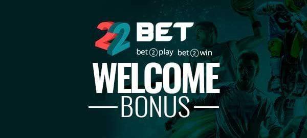 22bet приветственный бонус