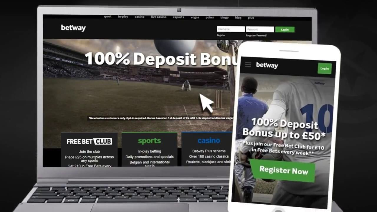 betway бонус