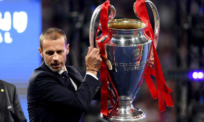 Президент УЕФА: Мне прислали расписание Суперлиги – Реал и Юве играют между собой каждый день