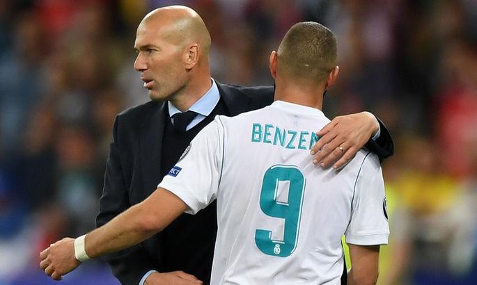 Бензема наздогнав Роналду та Рауля по асистах за Реал – Зідан дуже задоволений роботою Каріма