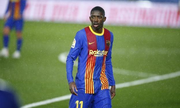 Барселона теряет Дембеле на ближайший матч