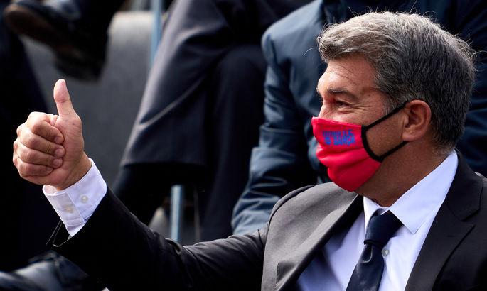"""""""Суперлига – это необходимость, план все еще существует"""". Президент Барселоны – о новом турнире"""