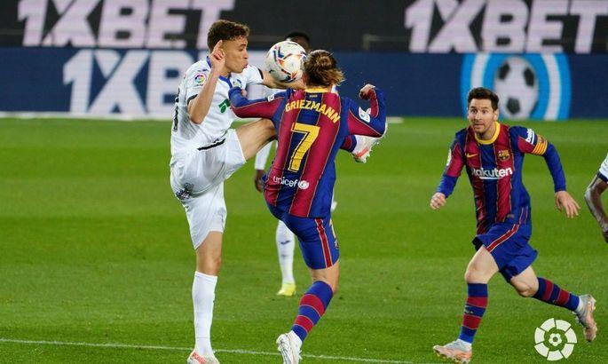 Фестиваль результативності. Барселона - Хетафе 5:2. Огляд матчу та відео голів