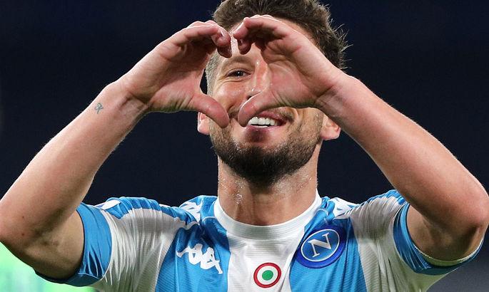 Нападающий Наполи повторил рекорд по голам за адзурри в Серии А