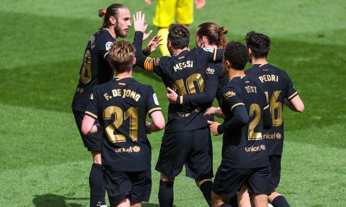 Лионель Месси собрал игроков Барселоны на обед у себя дома