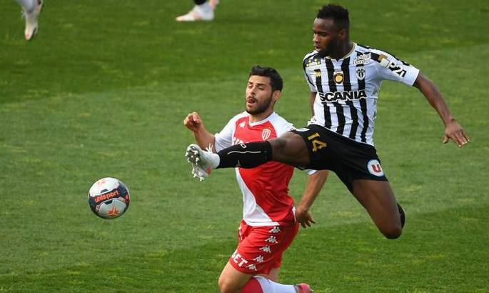 Лига 1. Анже –Монако 0:1. Бен Йеддер принёс красно-белым пятую победу кряду