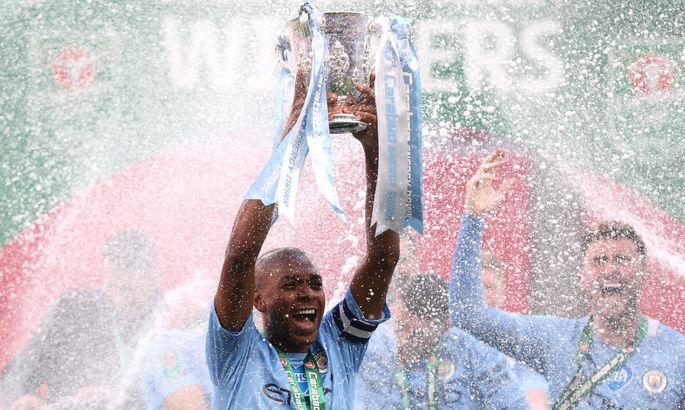 Манчестер Сити - Тоттенхэм 1:0. Четвертая подряд победа в Кубке лиги