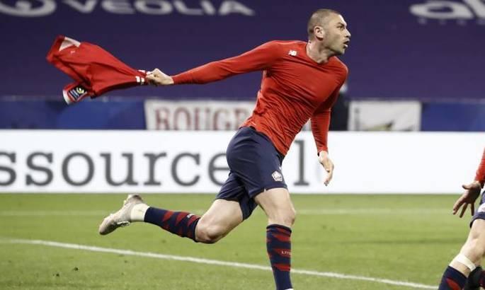 Лига 1. Лион – Лилль 2:3. Чемпионский камбек под предводительством Йылмаза