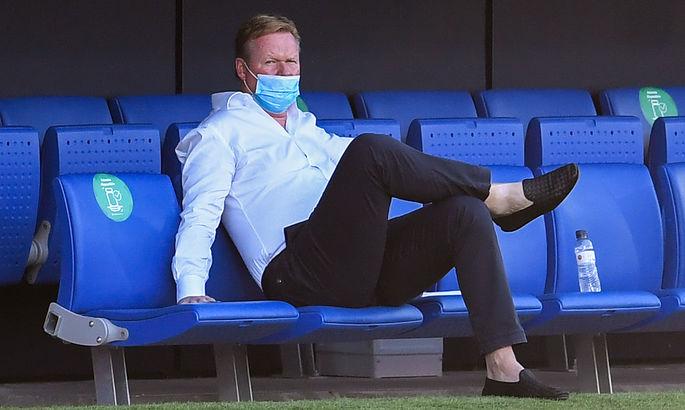 Куман: Барселона играет много матчей и устает больше ментально, чем физически