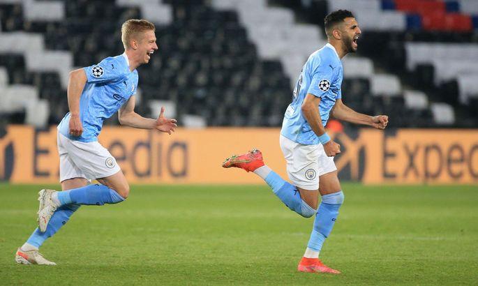 ПСЖ - Манчестер Сити 1:2. Видео голов и обзор матча