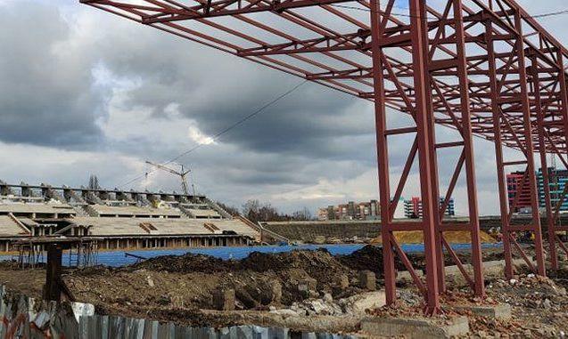 Горсовет Ровно выделил 50 млн грн на реконструкцию стадиона Авангард