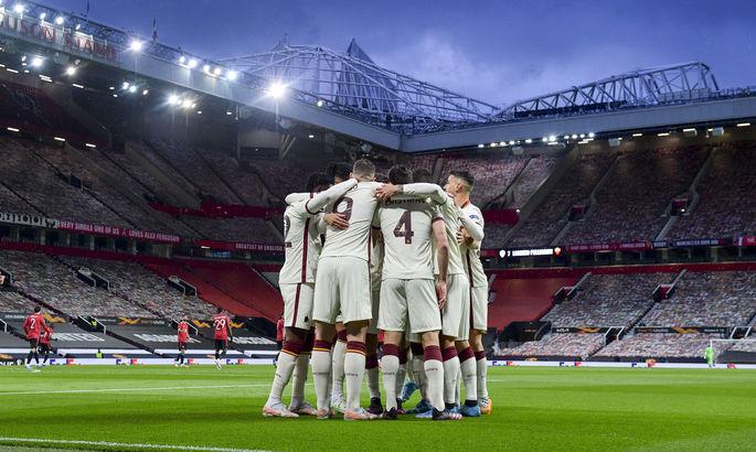 Фонсека с Ромой использовал все замены в первом тайме полуфинала Лиги Европы