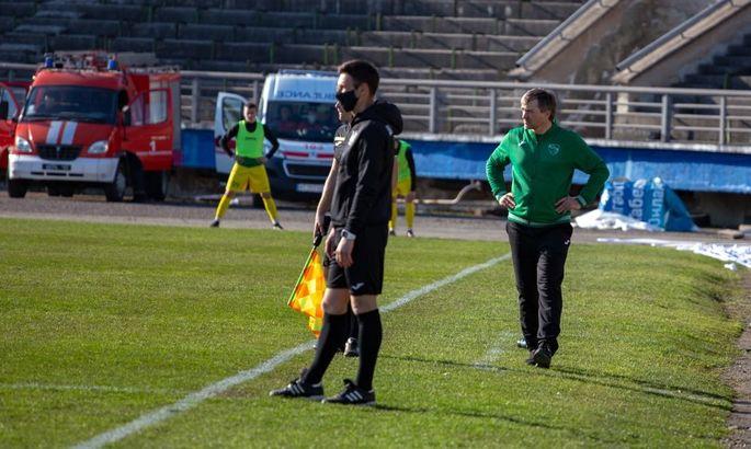 Прикарпатье уволило главного тренера