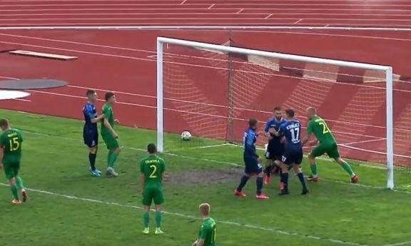 Два нереализованных пенальти от одесситов. Нива - Черноморец 0:1. Видео голов и обзор матча