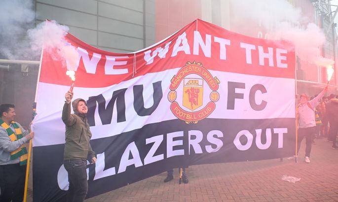Матч Манчестер Юнайтед - Ливерпуль отложен из-за массовых протестов болельщиков