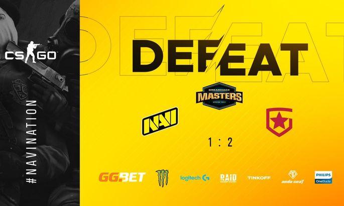 NaVi уступили в финале группы Gambit и начнут плей-офф DreamHack с 1/4
