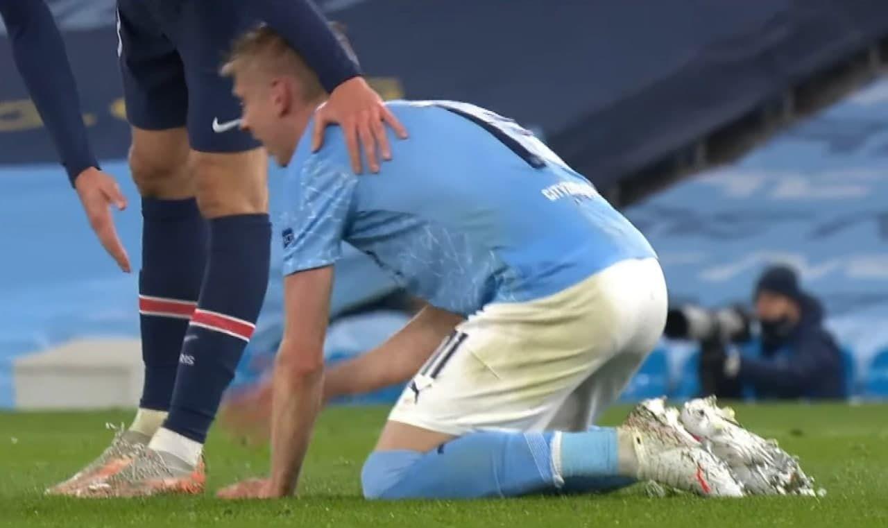 Эмоции, достойные финала. Зинченко расплакался после финального свистка матча с ПСЖ - изображение 4