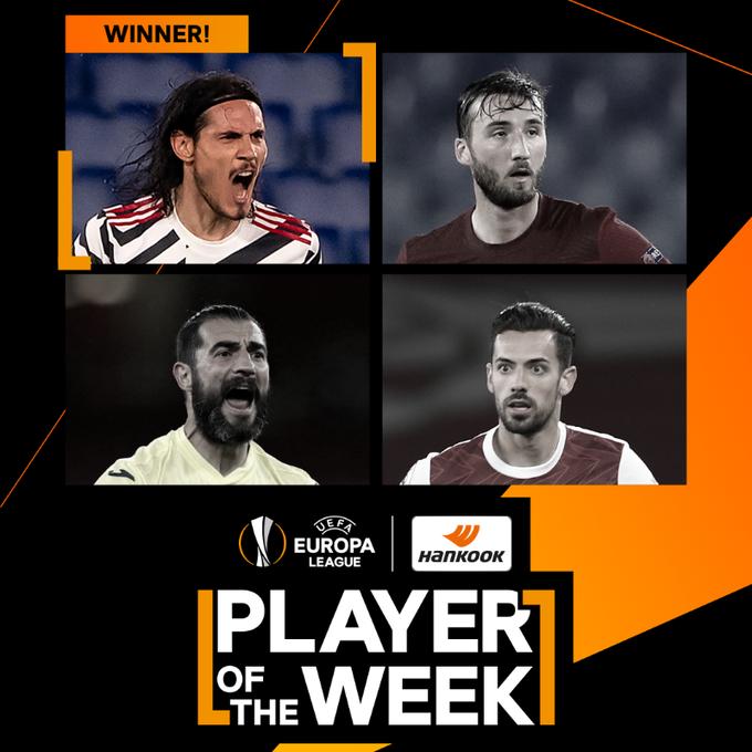 Четыре лучшие игрока недели в Лиге Европы. Команда победителя - уступила - изображение 1