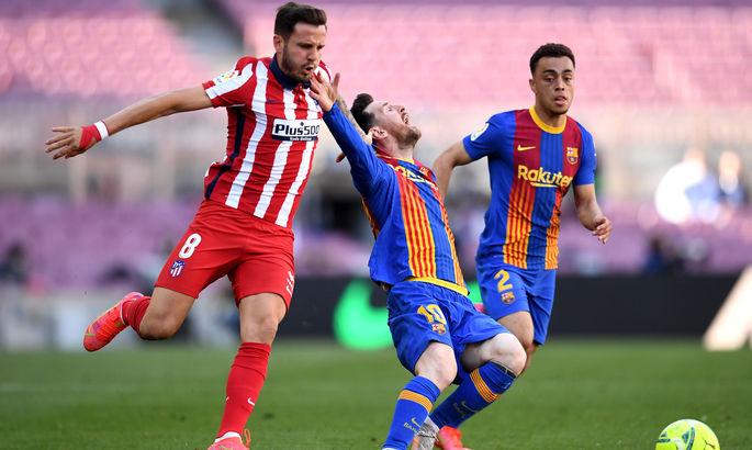 Примера. Барселона - Атлетико 0:0. Королевский подарок для Реала