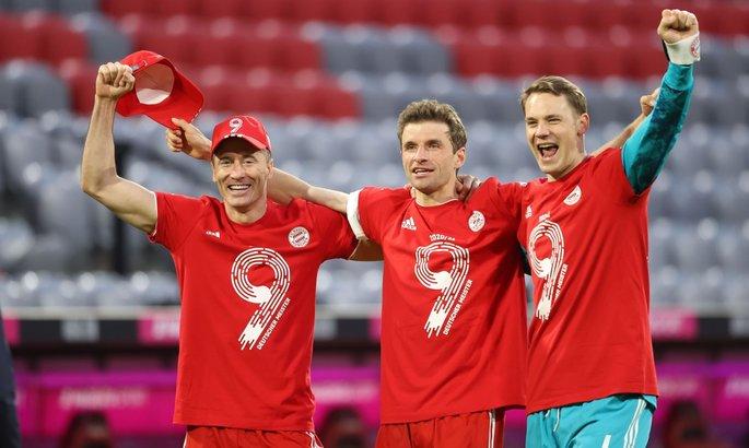 Чемпионство Баварии, Челси отсрочил празднования Сити, Неймар в ПСЖ до 2025. Главные новости за 8 мая
