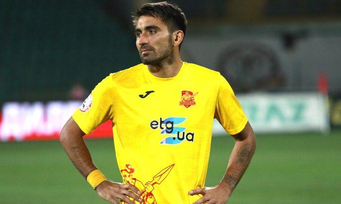 Сичинава покинул Ингулец и рассматривает предложения других клубов