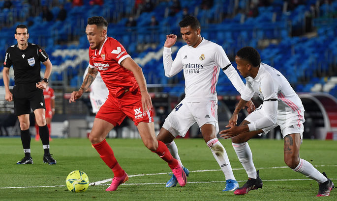 Примера. Реал - Севилья 2:2. ВАР перечеркнул амбиции Мадрида
