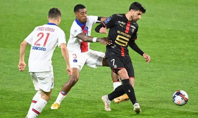 Лига 1. Ренн – ПСЖ 1:1. Париж практически попрощался с титулом