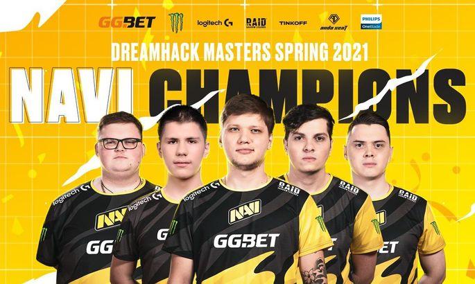NaVi - чемпионы DreamHack Masters Spring 2021