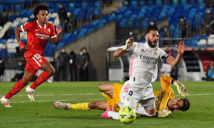 Азар рятує мрію. Реал - Севілья 2:2. Відео голів та огляд матчу