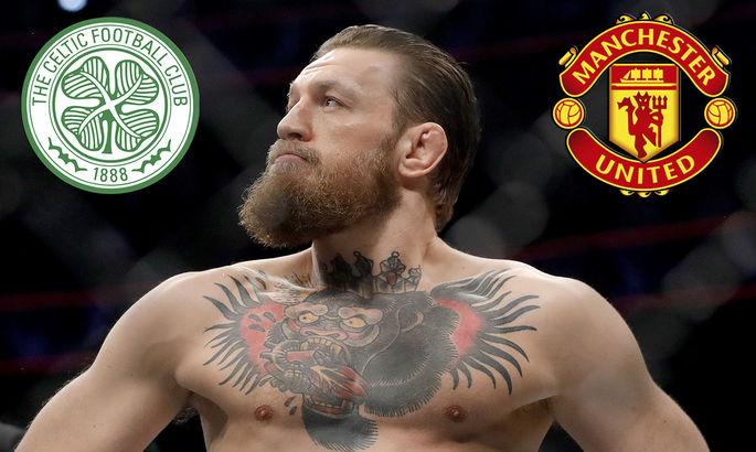 """""""Мне нравятся Селтик и МЮ"""". Боец UFC Конор Макгрегор может приобрести акции шотландского клуба"""
