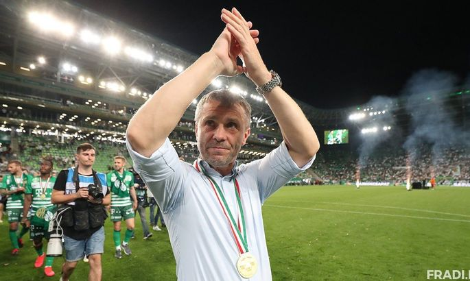 Ребров другий рік поспіль визнаний найкращим тренером в Угорщині
