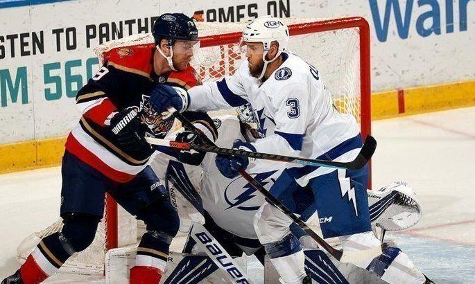 НХЛ: Флорида разгромила Тампу, успехи Нэшвилла и Эдмонтона