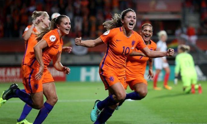 Женщинам в Нидерландах разрешили играть в одной команде вместе с мужчинами