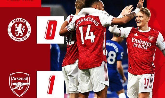 Арсенал впервые за 10 лет обыграл Челси в гостях