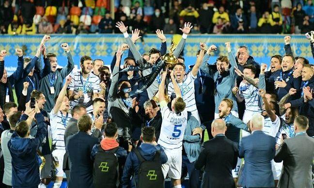 Динамо завоевало 38-й трофей в независимой Украине. Это на три больше, чем у Шахтера