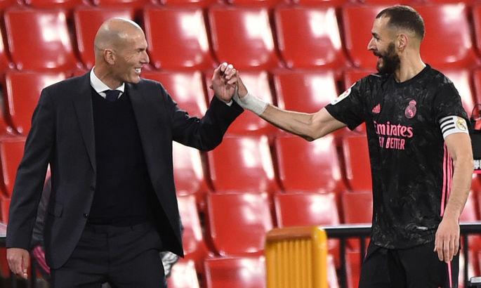 Реал повторив найкращу серію в Ла Лізі без поразок за Зідана – Зінедін висловився про гру вершкових