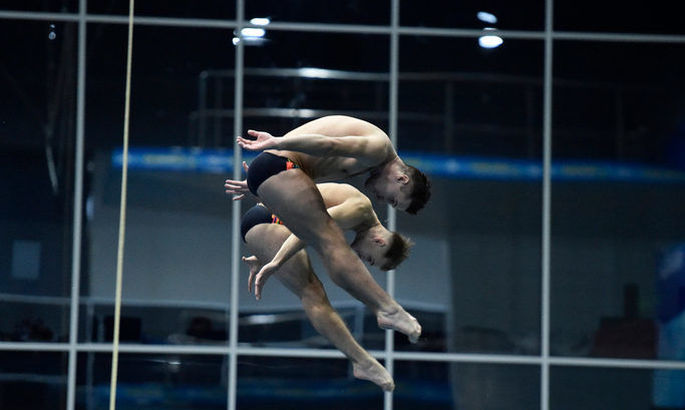 Украинцы Горшковозов и Колодий – бронзовые призеры ЧЕ в синхронных прыжках