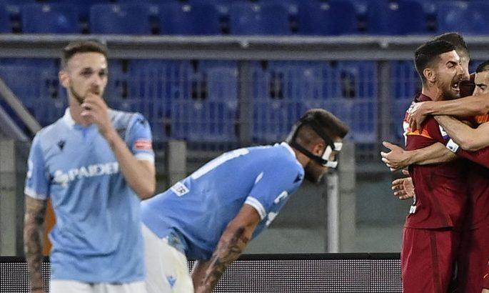 Серія А. Рома - Лаціо 2:0. Подарунок Фонсеки на прощання