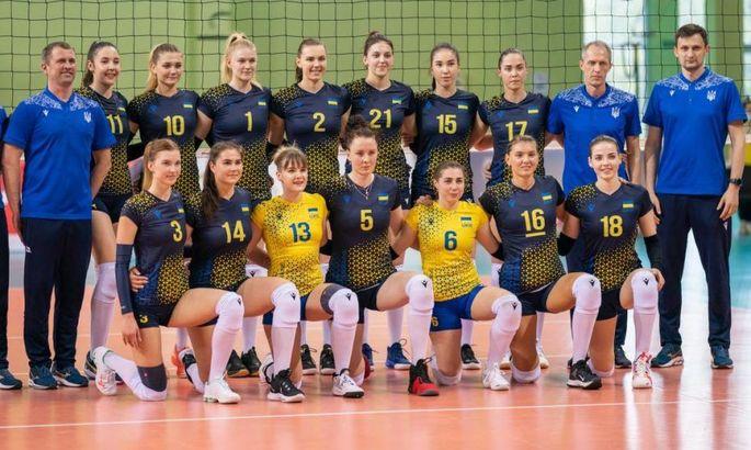 Сборная Украины по волейболу разгромила Грузию в последнем матче отбора на ЧЕ 2021