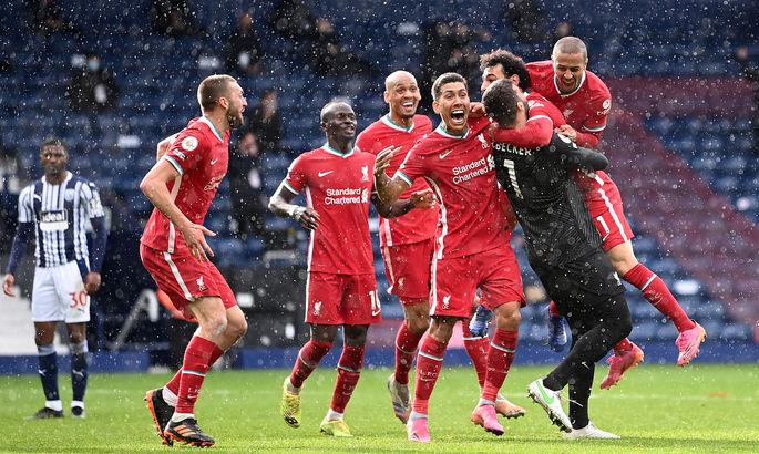 АПЛ. Вест Бром - Ливерпуль 1:2. Гол Алиссона принес победу красным на 90+5 минуте