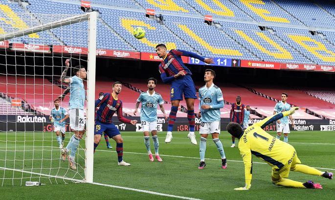 Прімера. Барселона - Сельта 1:2. Квінтесенція сезону