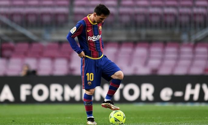 Месси забил 30 мячей в Ла Лиге в 9-й раз в карьере