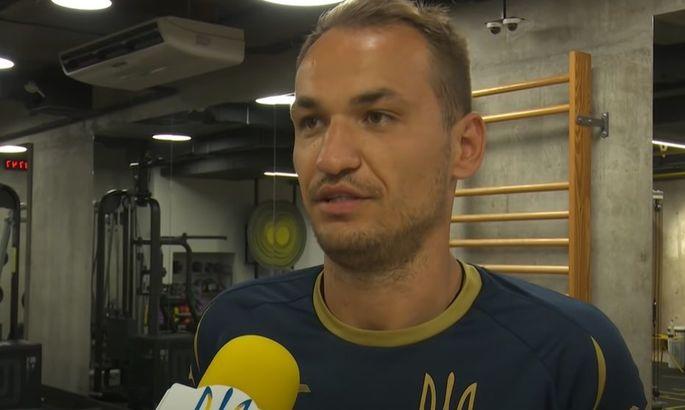 Макаренко: Конкуренция в лагере сборной началась уже с первой тренировки