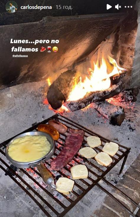 Вот это отпуск! Карлос Де Пена пасет коров и жарит мясо на гриле. ВИДЕО - изображение 1