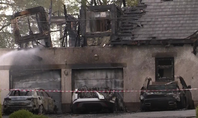 Директору Селтика сожгли дом
