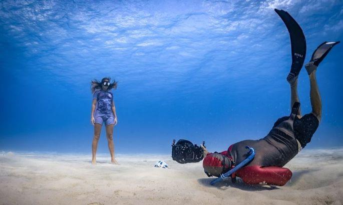 Напоминая о простых вещах: Интер Майами Дэвида Бекхэма представил новую форму на дне океана