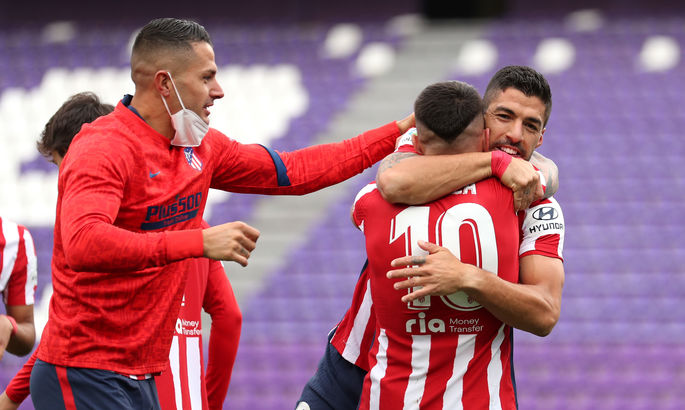 Атлетико Мадрид - чемпион Испании-2021